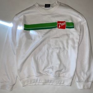 7up Crewneck Sweater Size Small